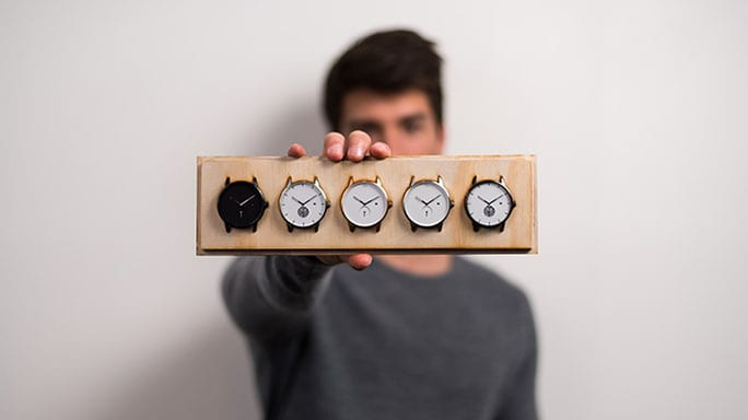 Curtin architectural science graduate and watch connoisseur David Tomić