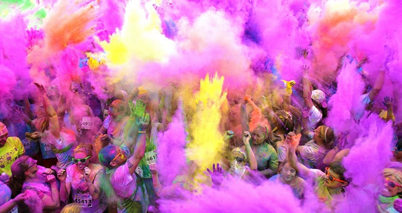 Color Me Rad 5k Run News And Events Curtin University