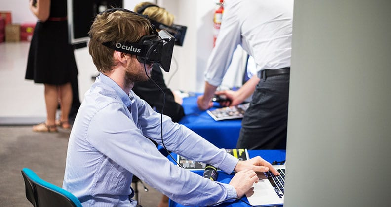 Immersive technology in full use at Curtin's HIVE