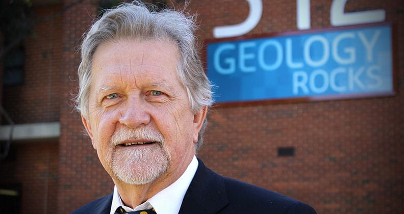Professor Andrew Putnis, the new Director of The Institute for Geoscience Research (TIGeR)