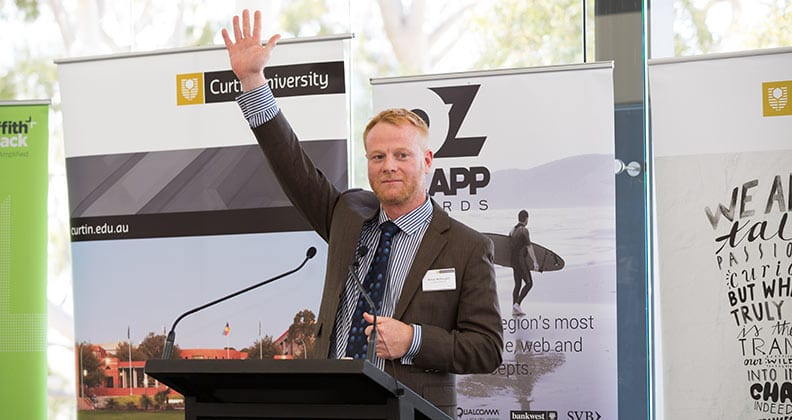 Director of Curtin's Office of IP Commercialisation Rohan McDougall