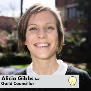 Social Work Student Alicia Gibbs elected to CurtinStudent Guild Council