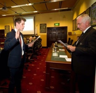 Curtin student becomes Perth's youngest councillor