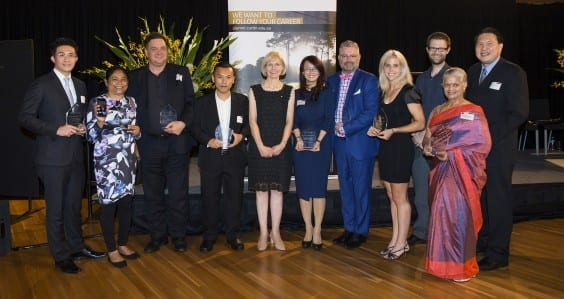 Outstanding Curtin alumni celebrated at awards night
