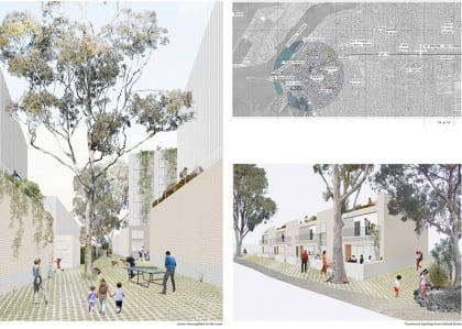 Students plan low cost housing design concepts