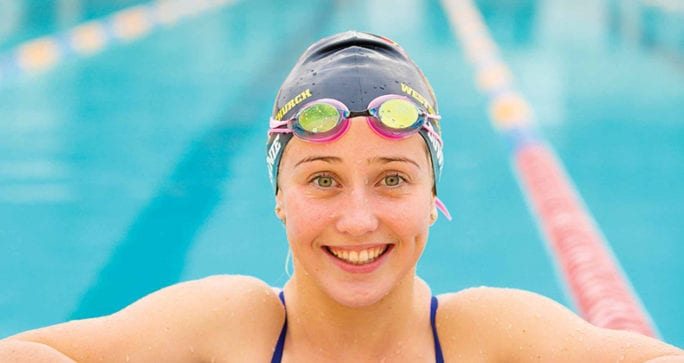 Australian paralympian and Curtin architecture student Katherine Downie