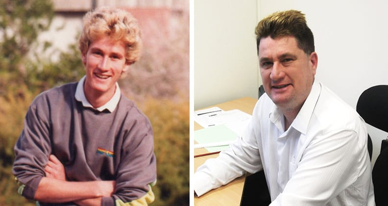 Steve Nicols: then and now