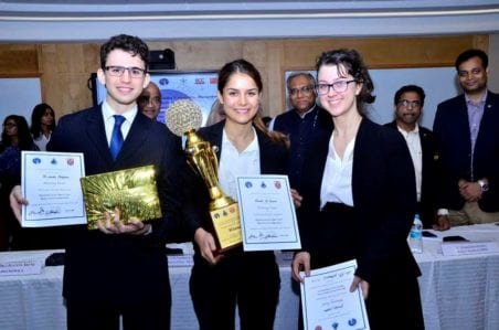 Out of this world: Curtin Law students win moot court competition