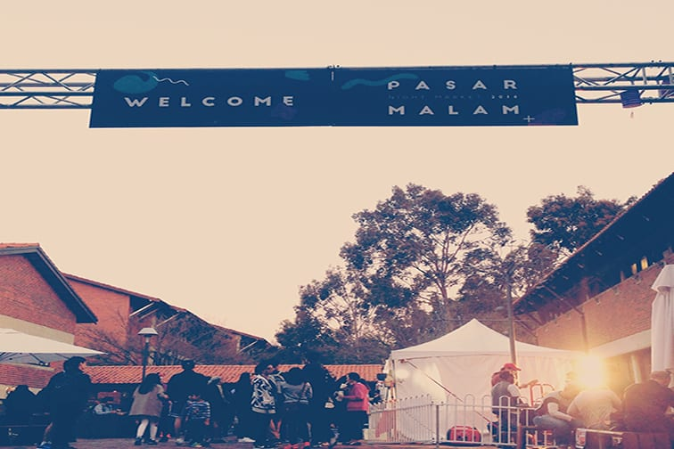Pasar Malam event on-campus