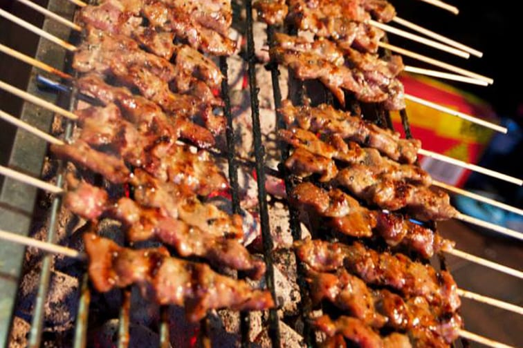 Shishkebab on campus