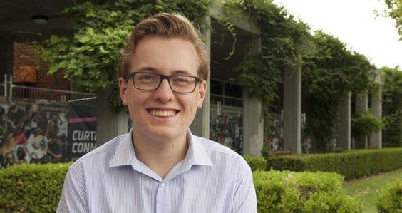 Curtin student wins Student of the Year award in national competition