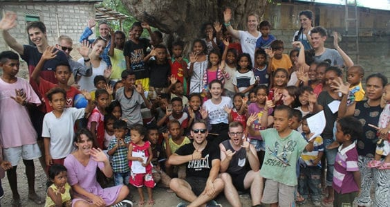 International relations students face reality in Timor-Leste