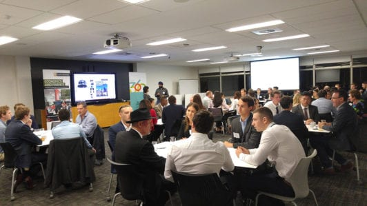 Property students meet industry leaders in timed talkfest