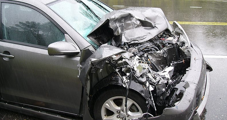 car accident image by W. Robert Howell, Charlotte, NC, USA
