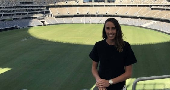 Stadium tour ideas open career pathways at Optus Stadium