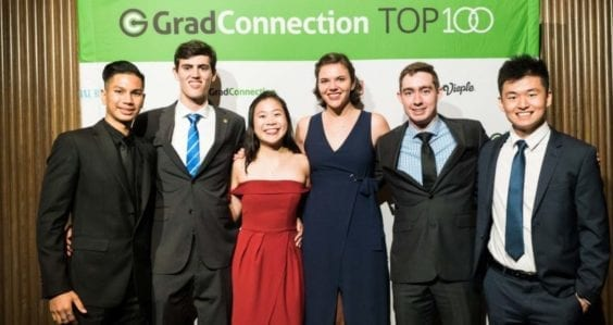 Four Curtin students named in the Top100 Future Leaders
