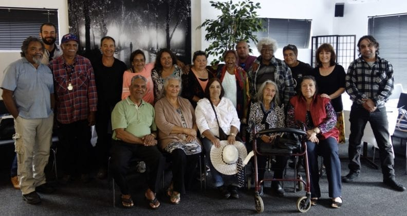 Group working on Wirlomin Noongar project in 2015