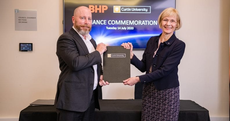 New BHP-Curtin alliance to drive innovation, research and education
