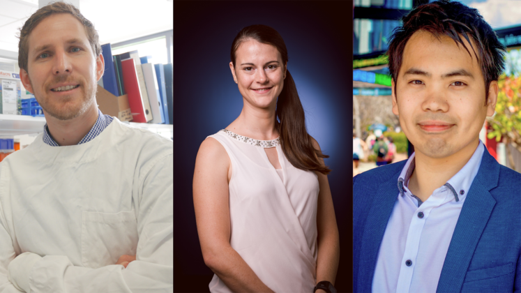Image for Talented Curtin trio win WA Young Tall Poppy Science Awards